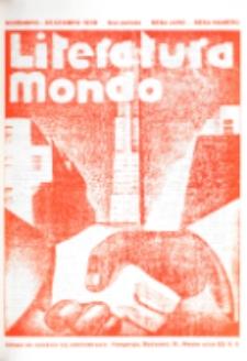 Literatura Mondo. Periodo 2, Jaro 6, numero 6 (Novembro-Decembro 1936)