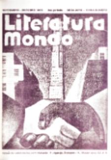 Literatura Mondo. Periodo 2, Jaro 6, numero 5 (Septembro-Oktobro 1936)