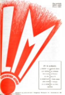 Literatura Mondo. Periodo 2, Jaro 6, numero 1 (1937)