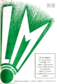 Literatura Mondo. Periodo 2, Jaro 6, numero 2 (1937)