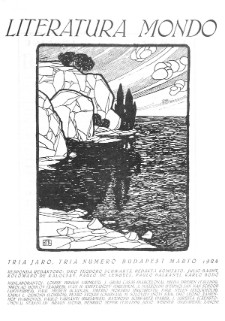 Literatura Mondo. Jaro 3, numero 3 (Marto 1924)