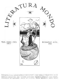 Literatura Mondo. Jaro 3, numero 8 (Augŭsto 1924)