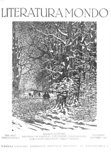 Literatura Mondo. Jaro 3, numero 12 (Decembro 1924)