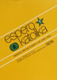 Espero Katolika.Jarkolekto 73, No 2=661 (1976)