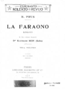 La Faraono : romano. Tria Volumo.