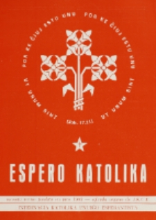 Espero Katolika.Jarkolekto 70, No 5=637 (1973)