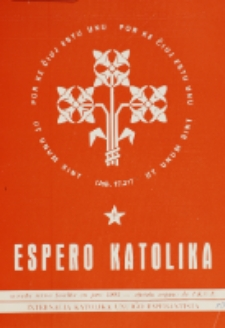 Espero Katolika.Jarkolekto 70, No 10=641 (1973)