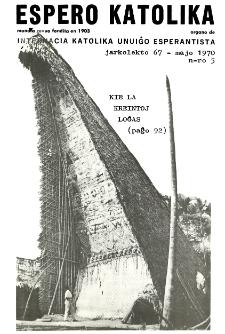 Espero Katolika.Jarkolekto 67, No 5 (1970)