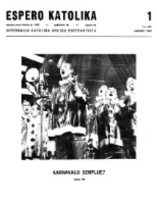 Espero Katolika.Jarkolekto 66, No 1=595 (1969)