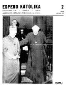 Espero Katolika.Jarkolekto 66, No 2=596 (1969)