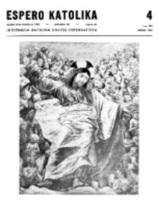 Espero Katolika.Jarkolekto 66, No 4=598 (1969)