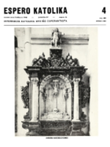 Espero Katolika.Jarkolekto 65, No 4=588 (1968)
