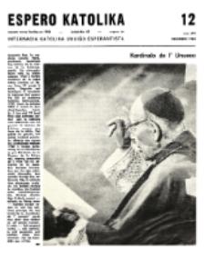 Espero Katolika.Jarkolekto 65, No 12=594 (1968)