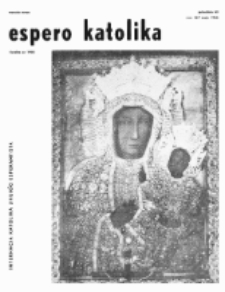 Espero Katolika.Jarkolekto 63, No 567 (1966)
