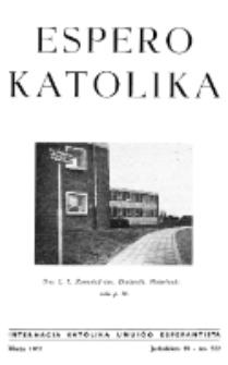 Espero Katolika.Jarkolekto 59, No 522 (1962)