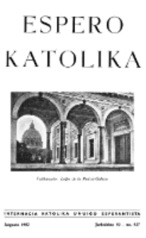 Espero Katolika.Jarkolekto 59, No 527 (1962)