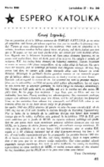 Espero Katolika.Jarkolekto 57, No 500 (1960)