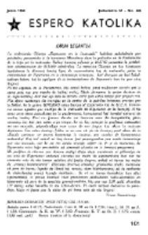 Espero Katolika.Jarkolekto 57, No 503 (1960)