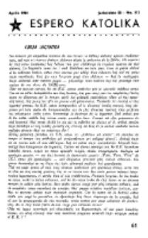 Espero Katolika.Jarkolekto 58, No 512 (1961)