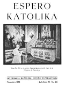 Espero Katolika.Jarkolekto 55, No 485 (1958)