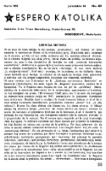 Espero Katolika.Jarkolekto 54, No 467 (1957)