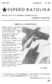 Espero Katolika.Jarkolekto 54, No 468 (1957)