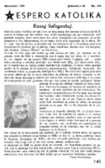 Espero Katolika.Jarkolekto 54, No 474 (1957)