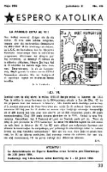 Espero Katolika.Jarkolekto 51, No 436 (1954)