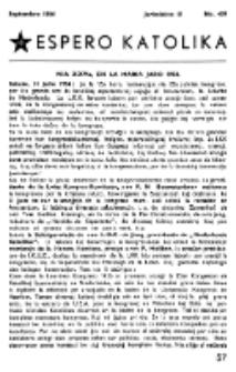Espero Katolika.Jarkolekto 51, No 439 (1954)