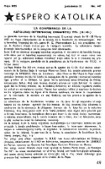 Espero Katolika.Jarkolekto 52, No 447 (1955)