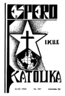 Espero Katolika.Jarkolekto 50, No 427 (1953)