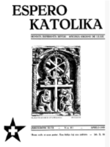 Espero Katolika.Jarkolekto 47, No 393 (1950)