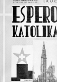 Espero Katolika.Jaro 36a, No 166/167 (1939)