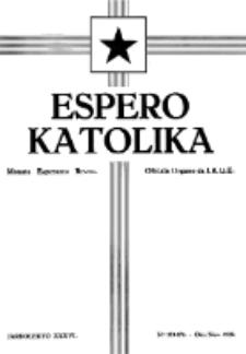 Espero Katolika.Jaro 36a, No 173/174 (1939)