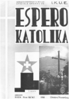 Espero Katolika.Jaro 35a, No 161/162 (1938)