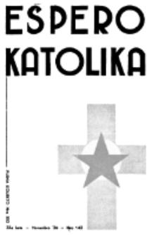 Espero Katolika.Jaro 33a, No 142 (1936)