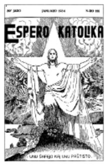 Espero Katolika.Jaro 30a, No 116 (1933/1934)