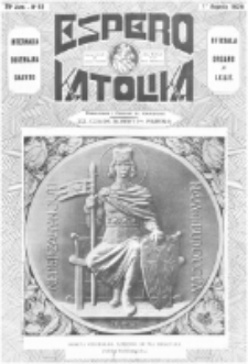Espero Katolika.Jaro 25a, No 63 (1928/1929)