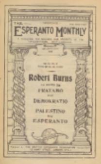 The Esperanto Monthly : a magazine for teachers and students of the international help-language / British Esperanto Association.Vol. 6, No 61 (january1918)