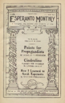 The Esperanto Monthly : a magazine for teachers and students of the international help-language / British Esperanto Association.Vol. 6, No 62 (february1918)