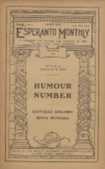 The Esperanto Monthly : a magazine for teachers and students of the international help-language / British Esperanto Association.Vol. 6, No 64 (april1918)