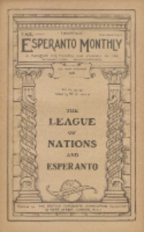 The Esperanto Monthly : a magazine for teachers and students of the international help-language / British Esperanto Association.Vol. 6, No 69 (september1918)