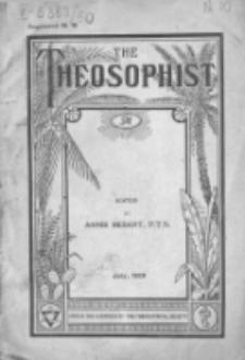 Theosophist. Vol. 50, nr 10 (1928/1929)