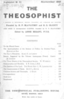 Theosophist. Vol. 41, nr 2 (1919/1920)