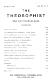 Theosophist. Vol. 68, nr 6 (1946/1947)