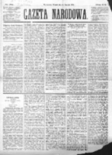 Gazeta Narodowa. R. 182 (1874), nr 182 (11 sierpnia)