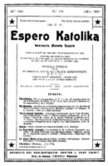 Espero Katolika.Jaro 29a, No 111 (1932/1933)