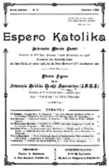 Espero Katolika.Nova Kolekto, No 2 (1924)