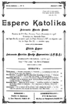 Espero Katolika.Nova Kolekto, No 5 (1925)