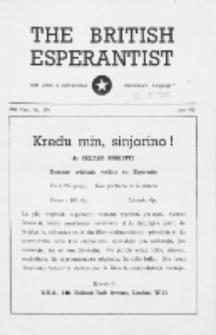 The British Esperantist : the official organ of the British Esperanto Association. Vol. 47, no 554 (June 1951)